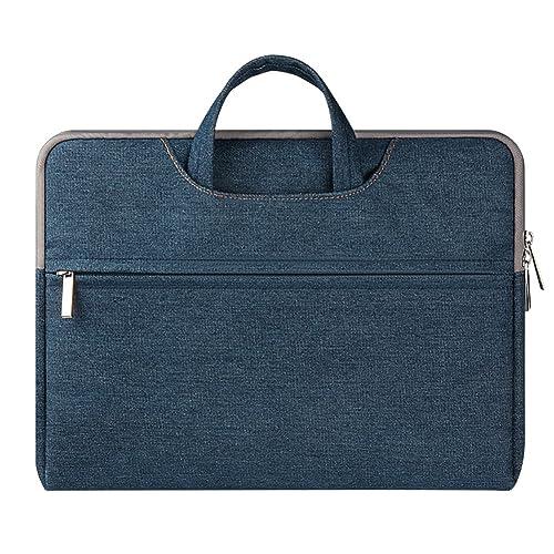 ZhuiKun Tela Vaquera Funda Bolso de Bandolera Maletín Bolso Sleeve para Ordenador Portátil/Tablet PC/Notebook / MacBook Pro/MacBook Air: Amazon.es: Zapatos ...