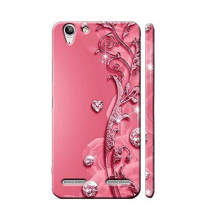 best authentic bfa89 fbd52 Clapcart Lenovo Vibe K5 Plus Designer Printed Mobile Back Cover for Lenovo  Vibe K5 Plus/Lenovo Vibe K5 - Pink Color (Heart Design Print for Girls)