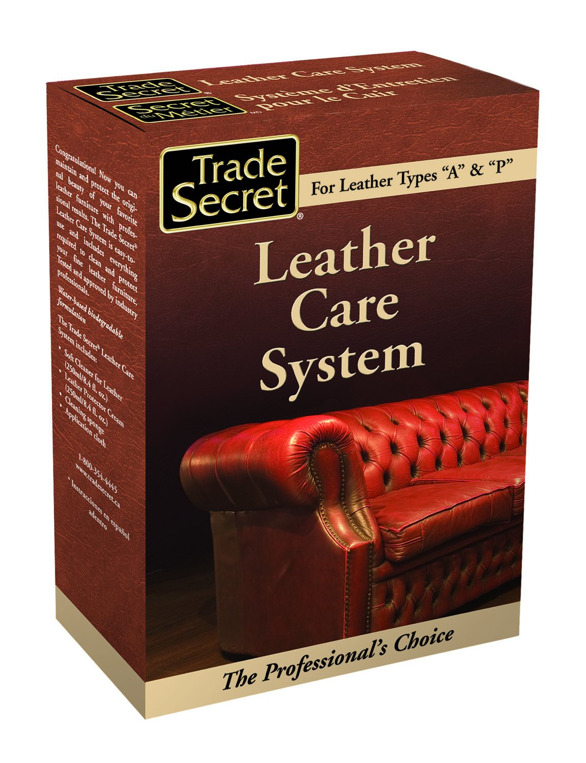 Trade Secret Leather Care System by Trade Secret