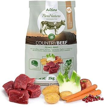 Pienso para Perros Pure Nature Countrybeef 2 kg. |Jugosa Ternera con ...