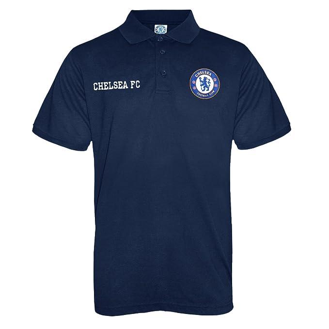Chelsea FC - Polo oficial para hombre - Con el escudo del club: Amazon.es: Ropa y accesorios