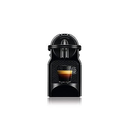 Nespresso DeLonghi Inissia Milk EN 80BAE Cafetera de cápsulas, 1500W, 0.7 L, 19 bareses, compacta, apagado automático, negro: Amazon.es: Hogar