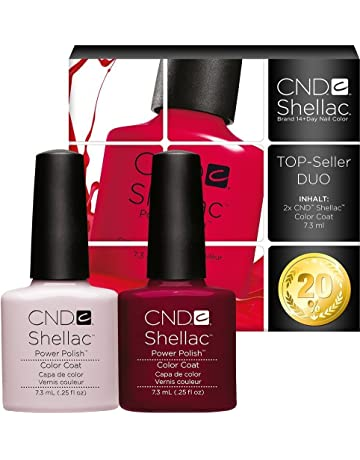 CND Shellac UV/LED polaco, Romantique/Decadence 7,3 ml – pack