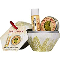 Burt's Bees Natural Gift Set, Lip Balm 4.25 g, Cuticle Cream 8.5 g