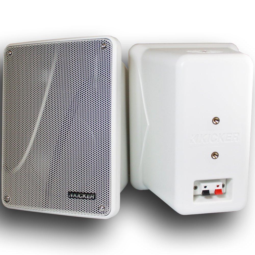 Kicker 11 KB6000W WHITE 6-½'' Marine Speakers