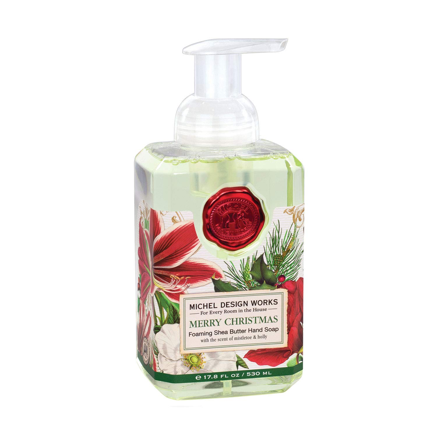 Michel Design Works Foaming Hand Soap, 17.8-Fluid Ounce, Merry Christmas