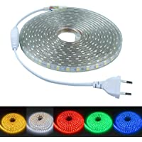 LED lightstrip, LED-strips, verlicht, LED Verlichting,220 V, 5050 IP65 waterdicht