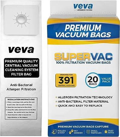 Amazon.com: VEVA - Bolsas de vacío para aspiradoras Nutone ...