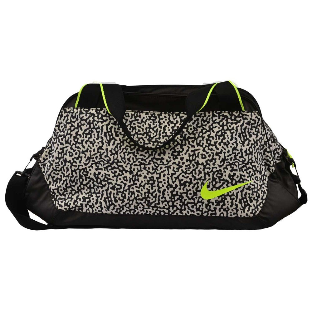 Nike C72 Legend 2.0 Medium Duffel Bag Gym Club Yoga Tote BA4653-170 Black/White/Volt
