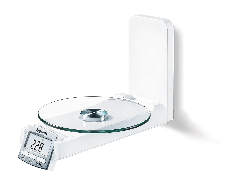 Beurer KS52 Balanza de Cocina, Color Blanco: Amazon.es: Salud y cuidado personal