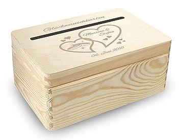 Midacreativ Kleine Holz Geschenkbox Hochzeit Briefbox Bb4