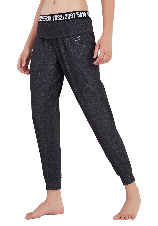 Matymats Women's Harem Pants Sport Yoga Trousers Gym Pilate Workout Joggers Sweatpants with Pocket Goture