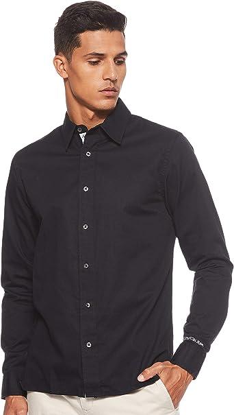 Calvin Klein Jeans - Camisa para hombre Negro xx-large: Amazon.es: Ropa y accesorios