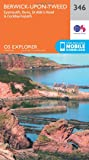 ORDNANCE SURVEY Explorer 346 Berwick-upon-Tweed Map With Digital Version