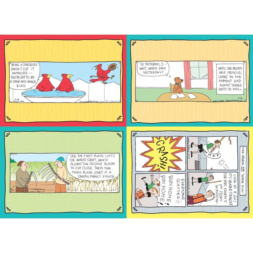 Tree-Free Greetings 思い出に残るライムとオレンジの誕生日カード詰め合わせ、5 x 7インチ、カード8枚と封筒のセット (GA31628) B01M5COHXE