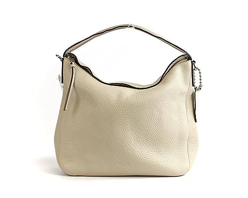 amazon com coach bleeker leather sullivan hobo milk shoes rh amazon com