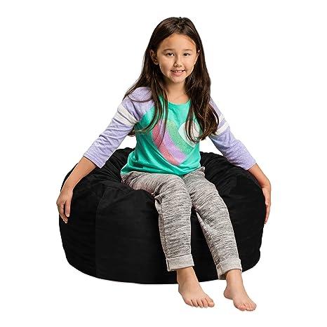 Fine Amazon Com Sofa Sack Plush Ultra Soft Kids Bean Bag Andrewgaddart Wooden Chair Designs For Living Room Andrewgaddartcom