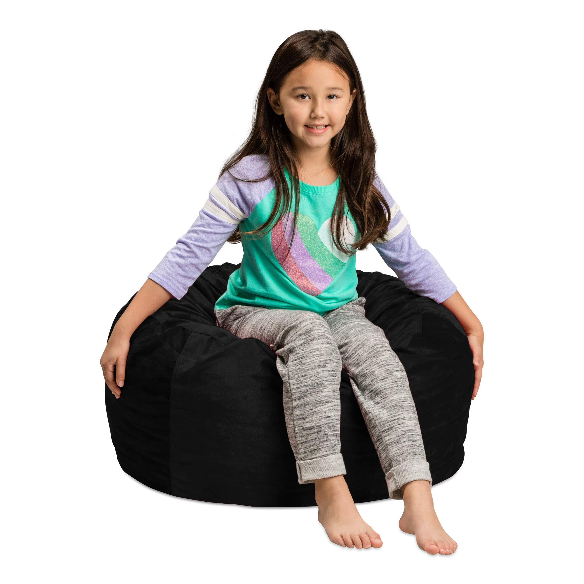 Sofa Sack – Plush, Ultra Soft Kids Bean Bag Chair – Memory Foam Bean Bag Chair with Microsuede Cove