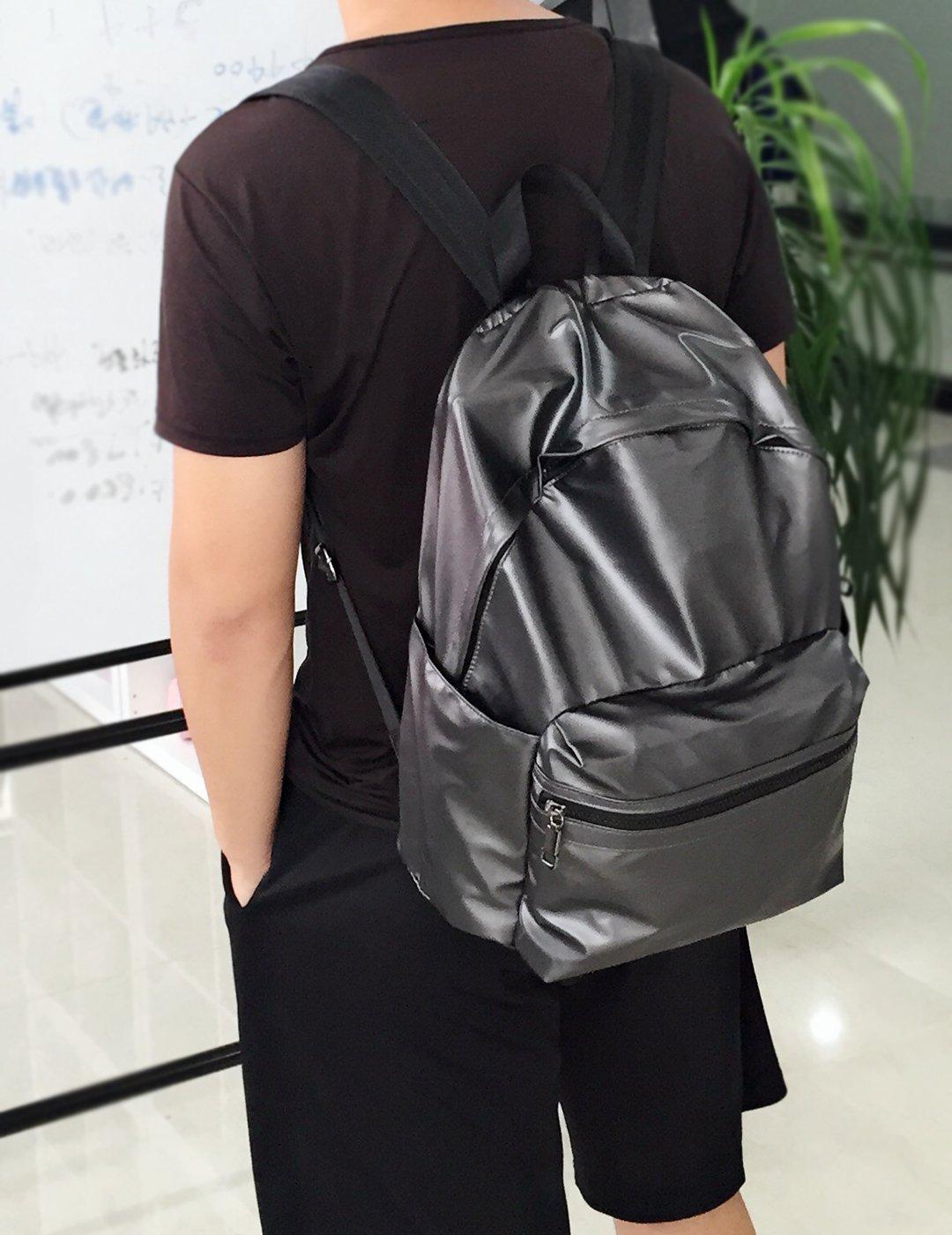 ZORFIN Fashion Nylon Backpack for Women&Men Rucksack Purse School Bags for Girls Waterproof Book Bag by ZORFIN (Image #6)