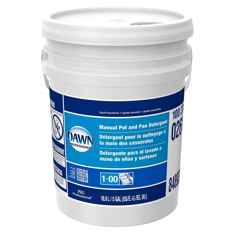 Amazon.com : Product of Dawn Dishwashing Liquid, Original Scent (5 gal. pail) - Dish Soap [Bulk Savings] : Grocery & Gourmet Food