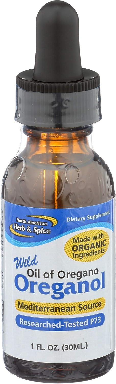 North American Herb & Spice Oreganol P73 - 1 fl. oz. - Supports Healthy Immune & Inflammatory Response - Wild Oregano Oil - Non-GMO, Certified Organic - 432 Total Servings: Health & Personal Care