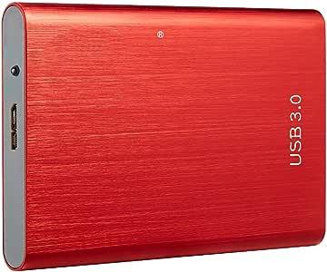 HWENJ Mini USB 3.0 Portátil Disco Duro Externo Portátil De 2.5 ...