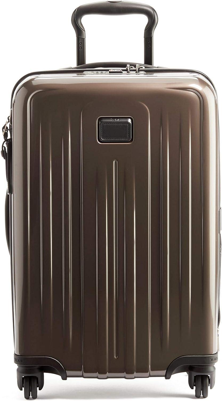 TUMI - V4 International Expandable 4 Wheeled Carry-On - 22-Inch Hardside Luggage for Men and Women - Mink