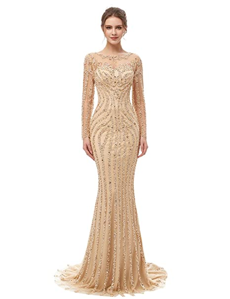 Evening Dress Champagne