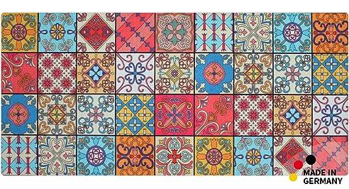 matches21 Küchenläufer Teppichläufer Teppich Läufer Marokko Retro ...