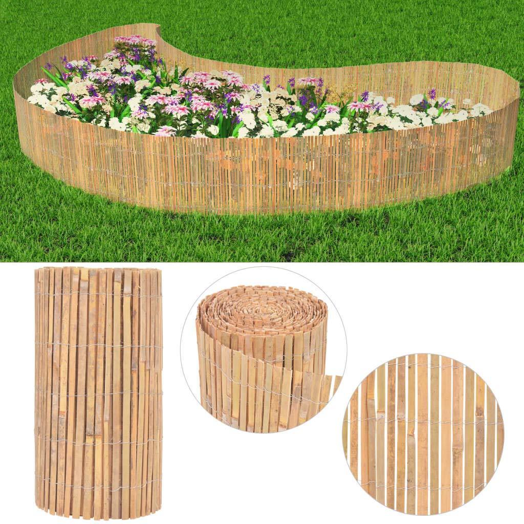 Recinzione da Giardino in bamb/ù 1000 x 50 cm vidaXL