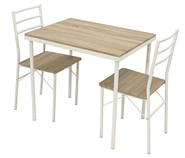 Ts Ideen 3er Set Essgruppe Esstisch Kuchentisch Tisch Stuhle