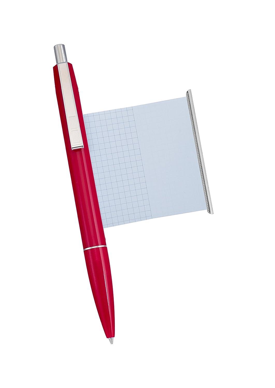 Made in Germany Kugelschreiber mit Spickzettel rot
