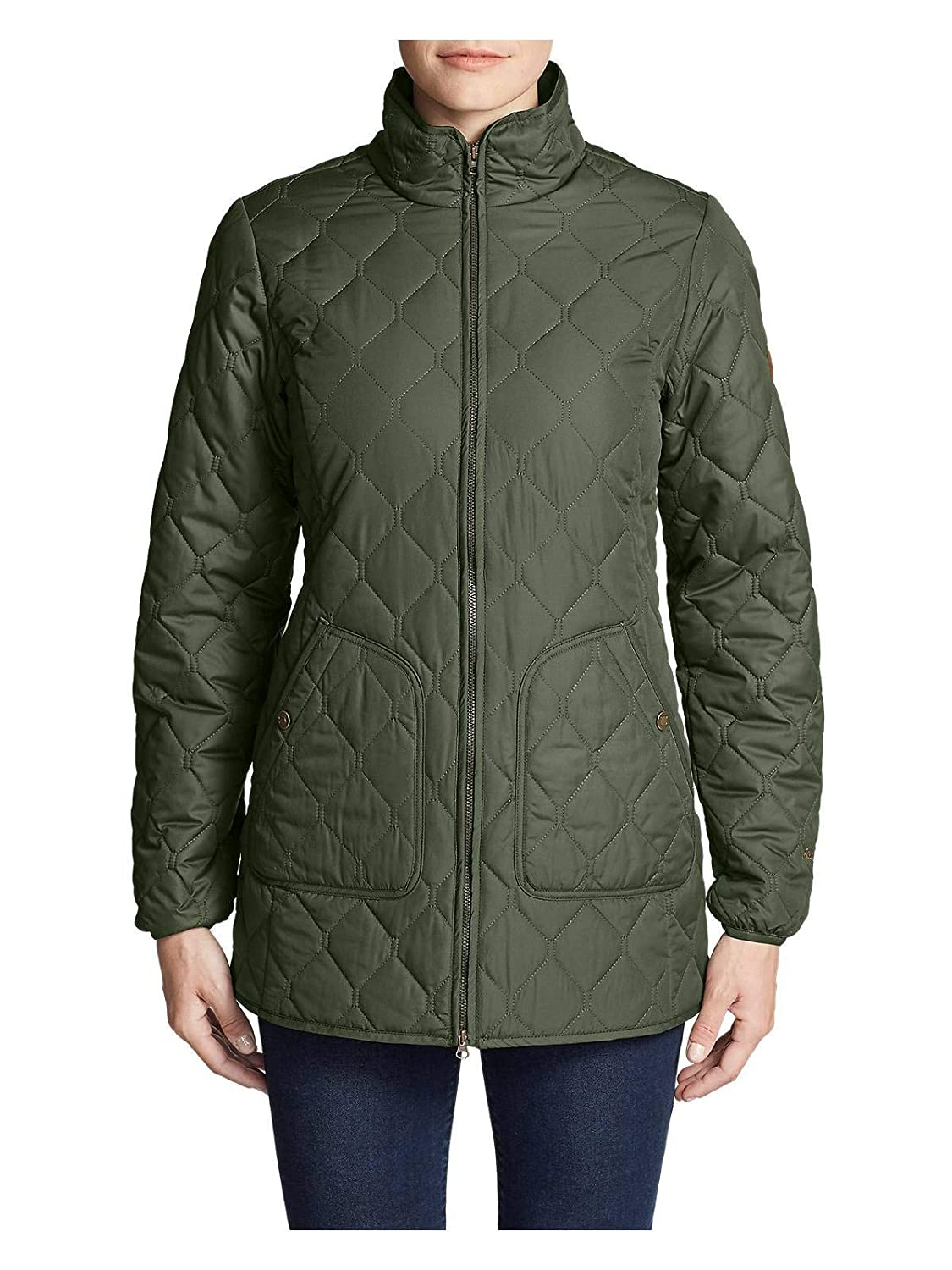 Dk Loden (Green) Eddie Bauer Women's YearRound 2.0 Field Coat