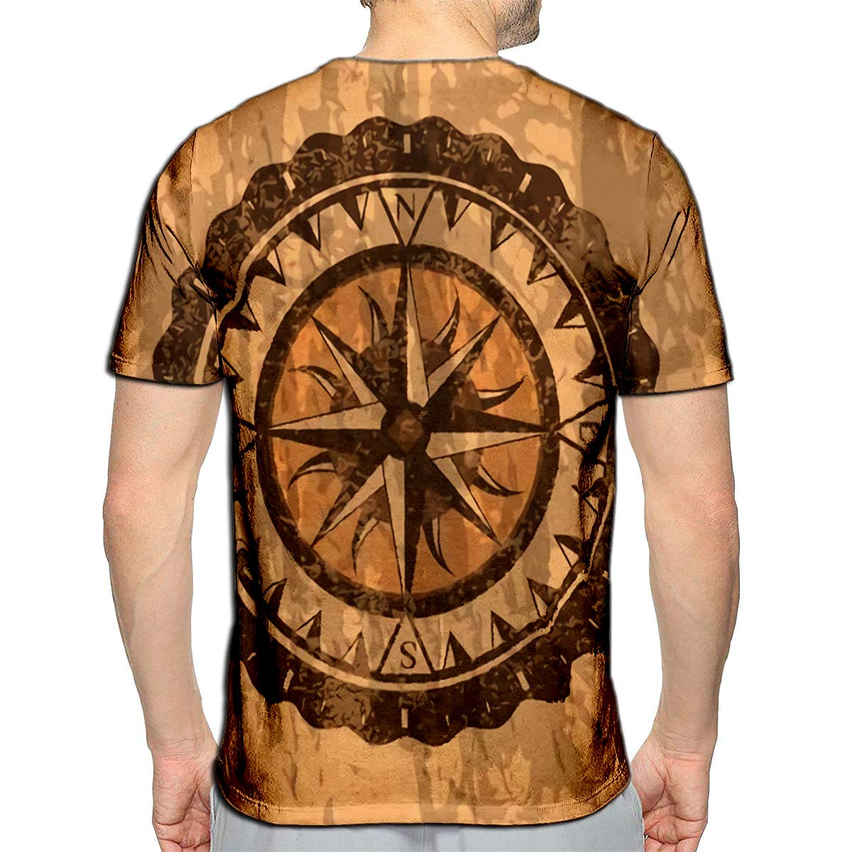 YILINGER 3D Printed T-Shirts Indian Festival Short Sleeve Tops Tees