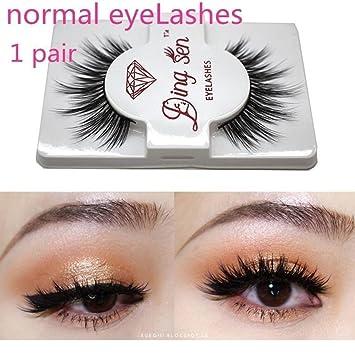 b33c427cbc8 Amazon.com : Expxon 5 Pairs/pack Hand-made Dramatic Makeup Strip Lashes,  Black Nature Thick Crisscross Deluxe Fluffy Long Soft Eyelashes False Lashes  : ...