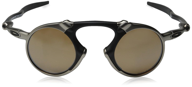 promo code for amazon oakley mens madman oo6019 06 polarized iridium round  sunglasses dark carbon 42 6fc7e03a1c