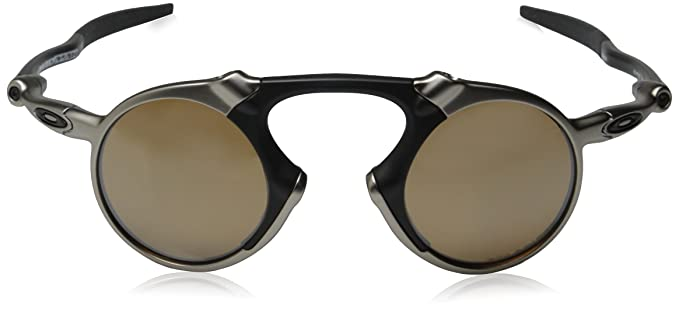 43114bda3bd28 Oakley Men s Madman OO6019-03 Polarized Iridium Round Sunglasses ...