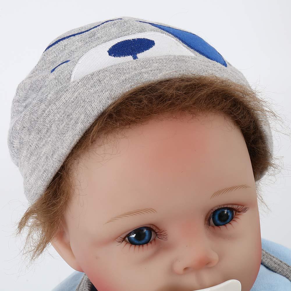 Amazon.com: LoveStory - Muñeca de bebé renacido de silicona ...