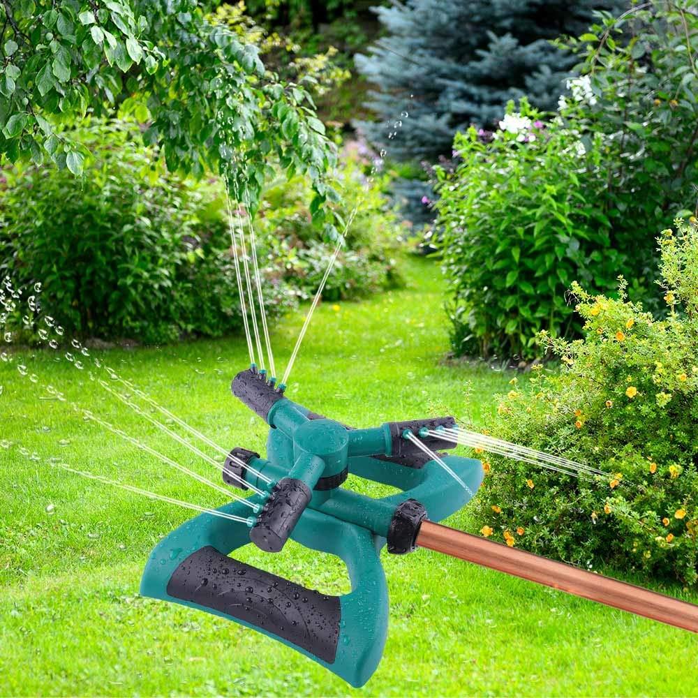 2018 Milemont Garden Sprinkler Lawn Irrigation System 360 Degree Rotating Lawn Sprinkler Automatic Garden Water Sprinklers