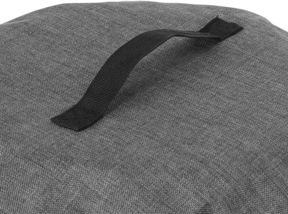 Couvercle anti-poussi/ère pour autocuiseur,chiffon Oxford rond l/éger Cuiseur /à riz autocuiseur r/ésistant /à lusure friteuse /à air 1# couvercle Crock Potprotective avec poche pour un nettoyage
