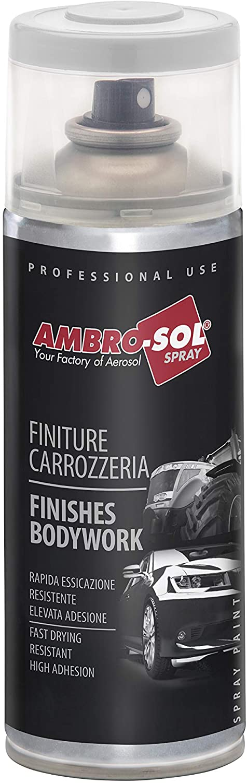 Ambro-Sol V400CAR.1 Pintura acabados carrocería aluminio llantas, Plata, 400 ml