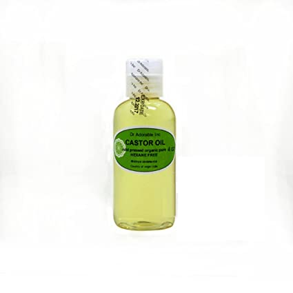Organic Pure Carrier 4 oz (aceites prensado en frío aceite de ricino)