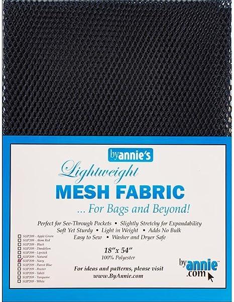 Annie by Lightweight Mesh Fabric LTWT 18x54 Navy