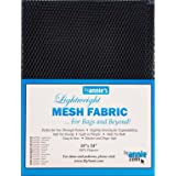 Annie Mesh Fabric LTWT 18x54 Navy, SUP209-NAVY, 54 Inches