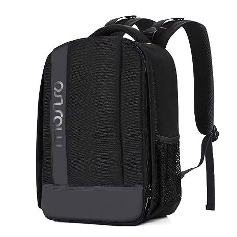Amazon.com: Mochila para cámara MOSISO, bolsa acolchada a ...