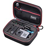 Smatree Carrying Case for GoPro Hero 7/6/5/4/3+/3/2/1/GOPRO HERO (2018) (Black & Red)-Extra-Small