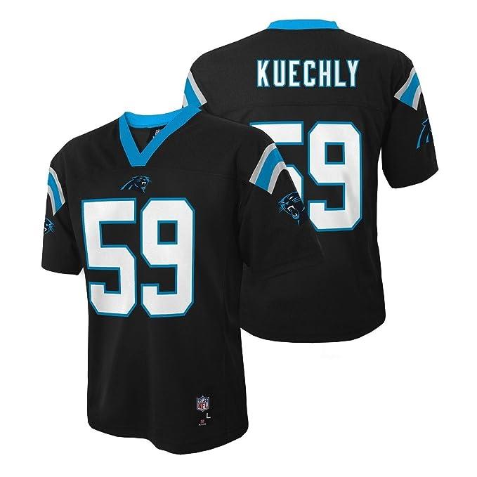 buy online 48632 4151c Luke Kuechly Carolina Panthers NFL Kids Black Home Mid-Tier Jersey