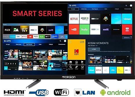 b0ba81740fe Morgan 32 Inch Smart Wifi Android Full Hd Led Tv  Amazon.in  Electronics
