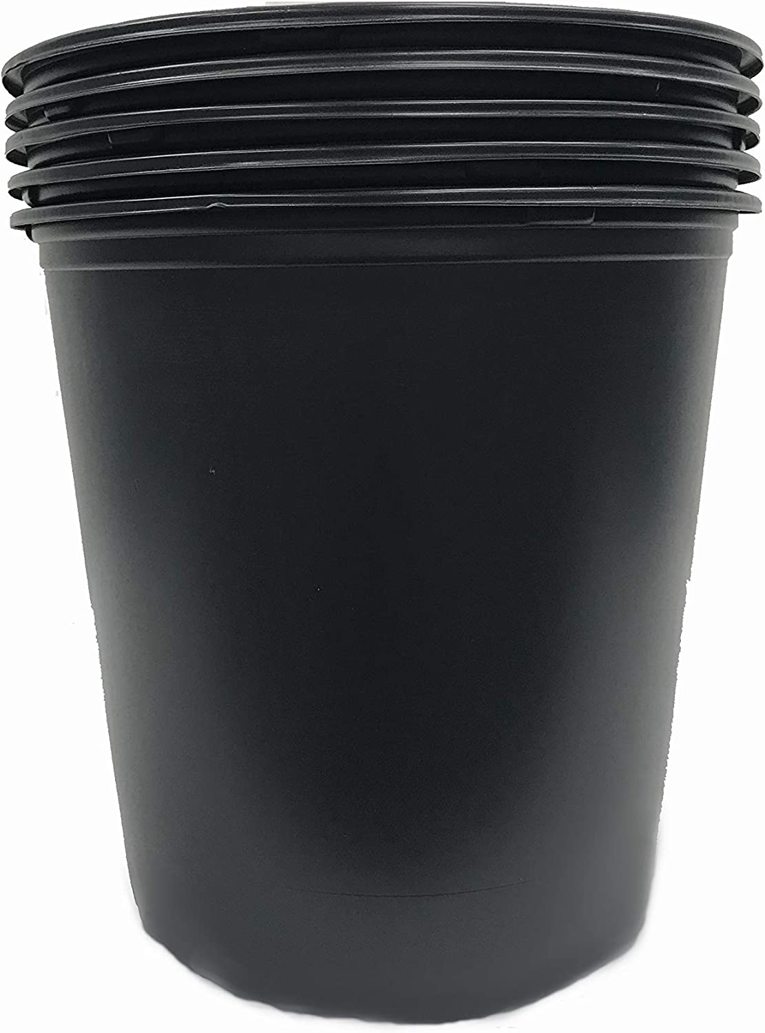 Viagrow VHPP500-5 Nursery Pot, 5 Trade Gallons (4. 02 US Gal/ 15.19 L/ 924 cu in), 5 Gallon, Black