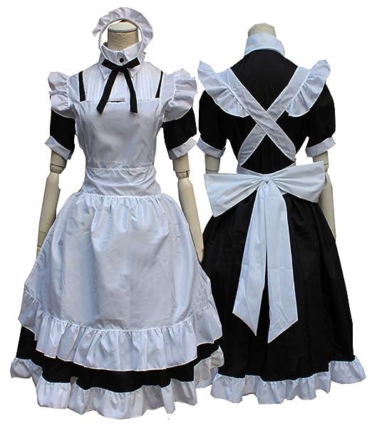 Amazon.com: cosnew Anime Kotori minami vestido de Maid ...